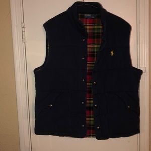Vintage Polo by Ralph Lauren Quilted button vest